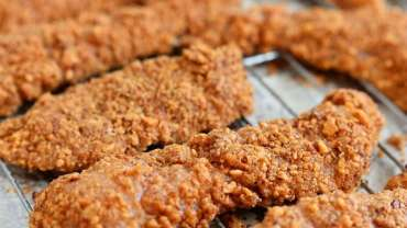 Almond kamut Crusted Chicken Strip